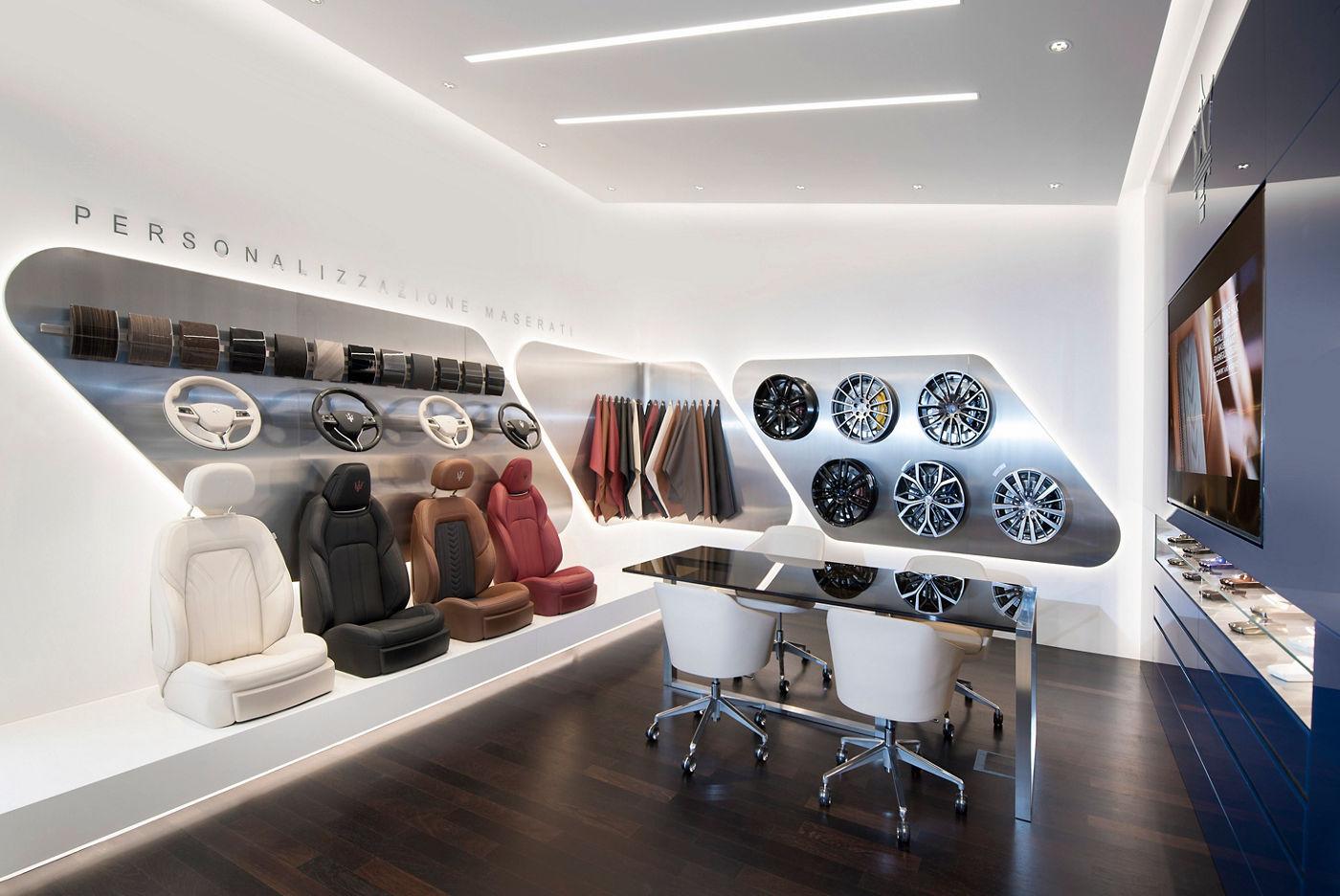 Maserati Showroom Mainz