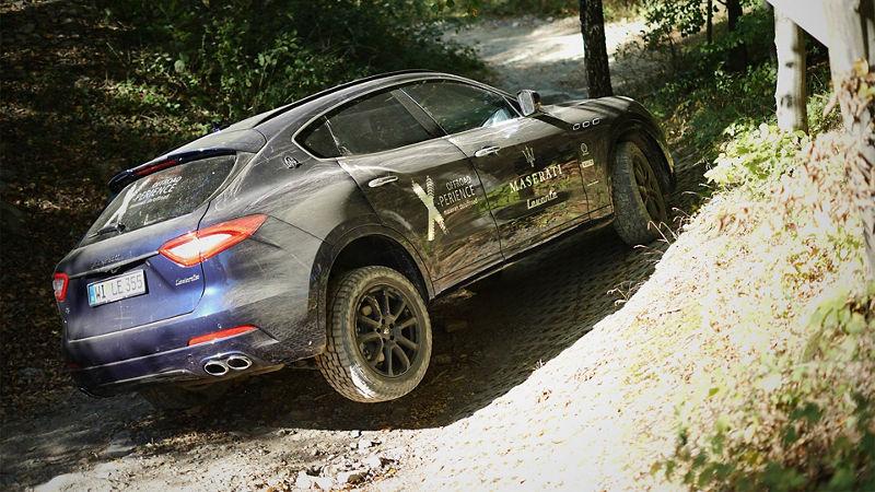 Probefahrt bei dem Maserati Levante Offroad-Experience