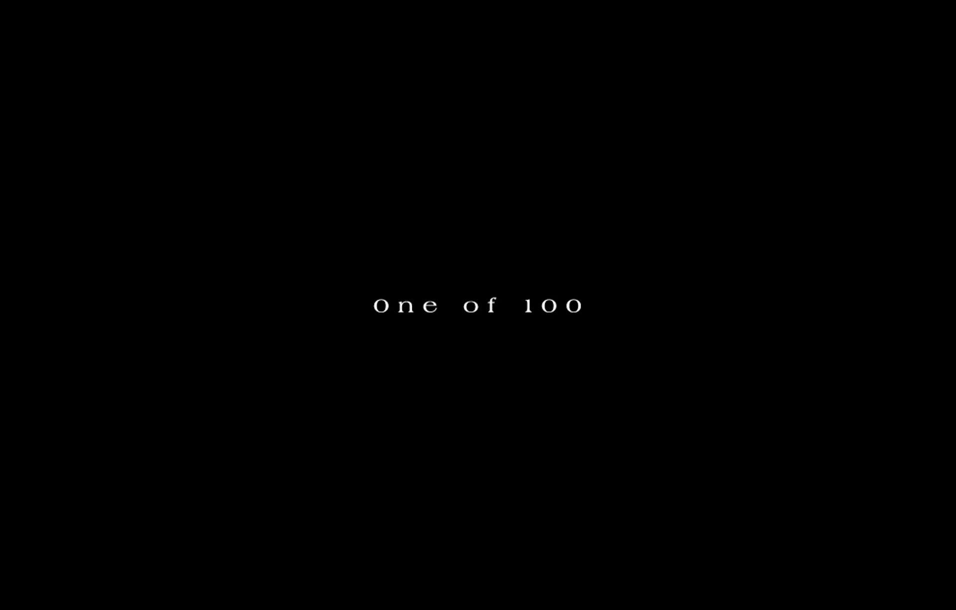 One Of 100 Slider