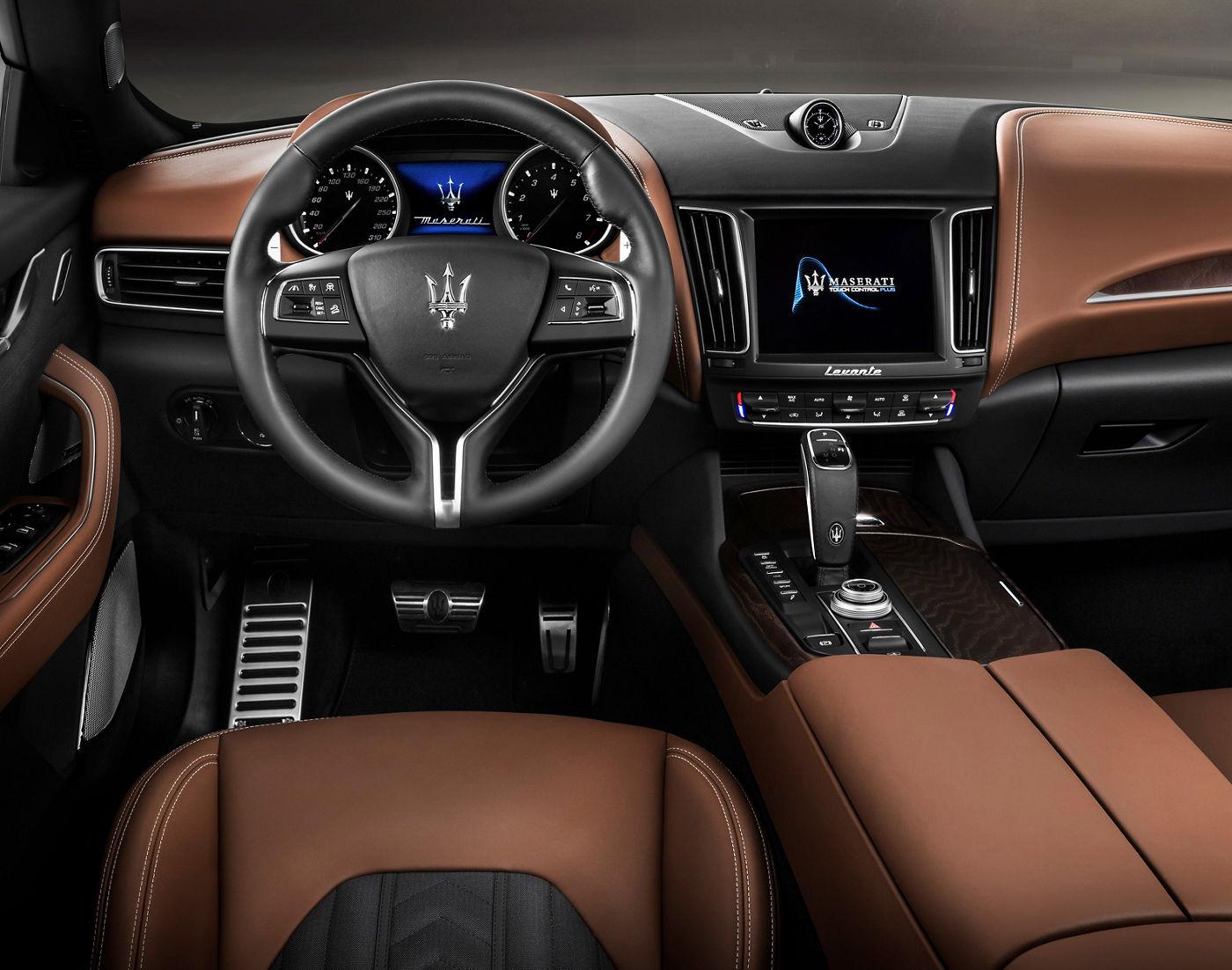 Maserati und Ermenegildo Zegna: Innenausstattung und Seide des Luxus-SUVs Levante