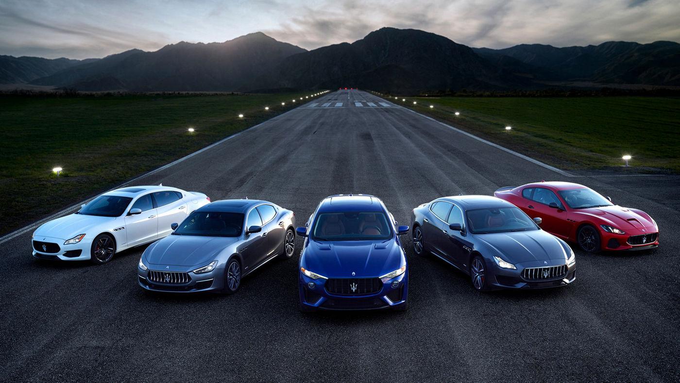 Tous les modèles Maserati en vente chez les distributeurs Maserati officiels.