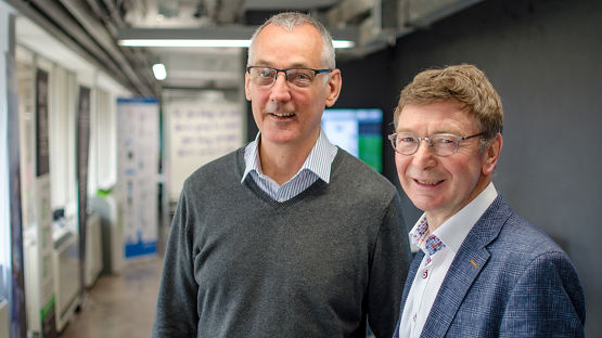 Peter Saunders & Ian Tansley