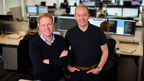 Nigel Toon and Simon Knowles