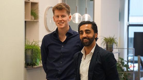 Ryan Brodie and Shahzad Younas