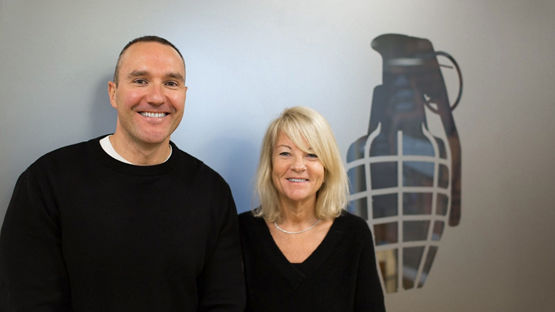 Alan Barratt and Juliet Barratt