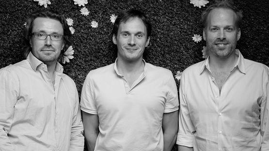 Richard Reed, Adam Balon and Jon Wright