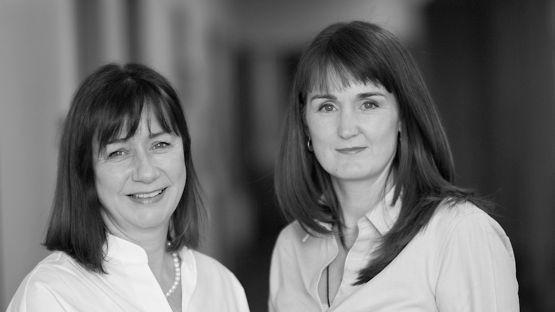 Roisin Molloy and Julie Brien