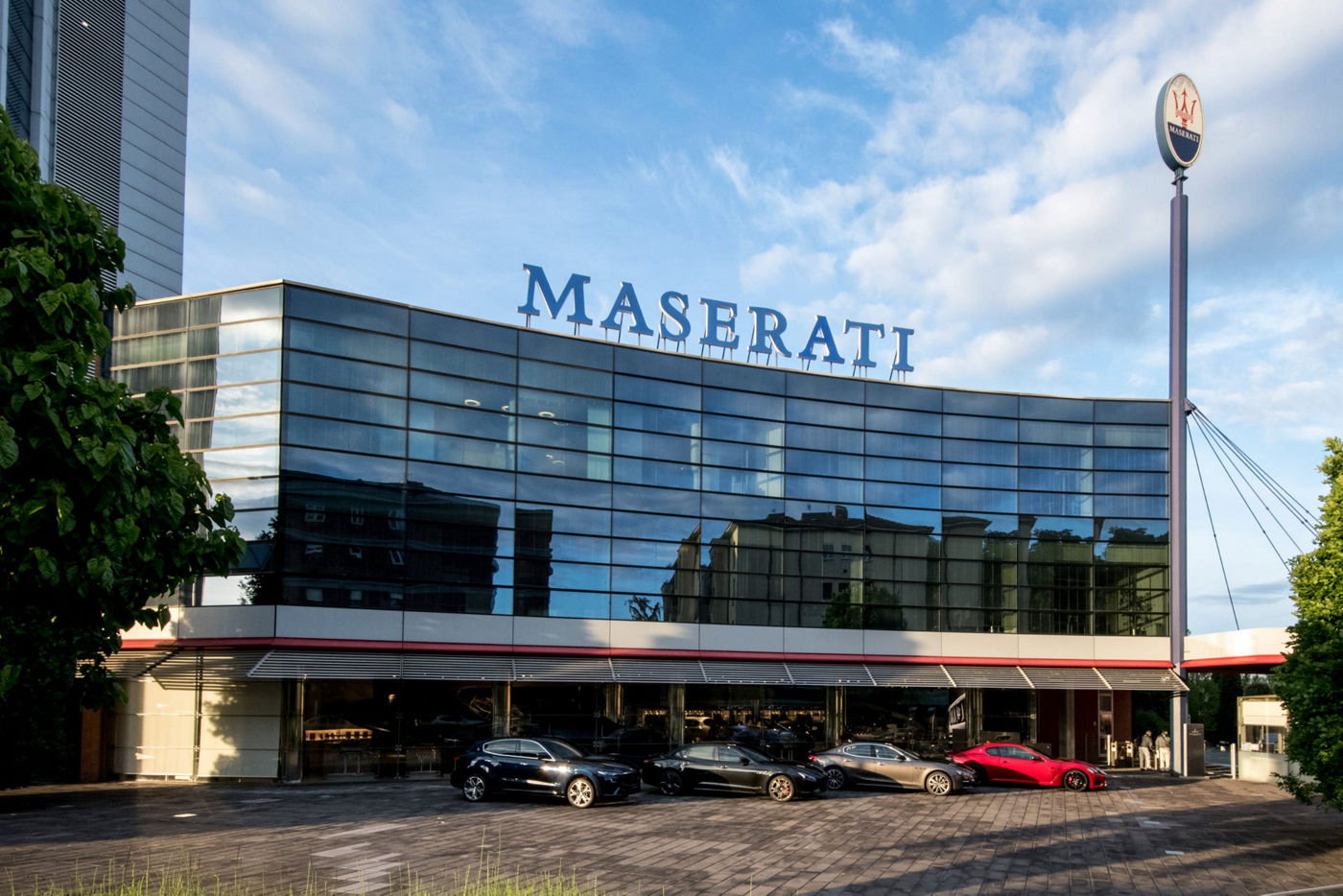 105 years of Maserati in Bologna and start of a new Era - Maserati Headquarter