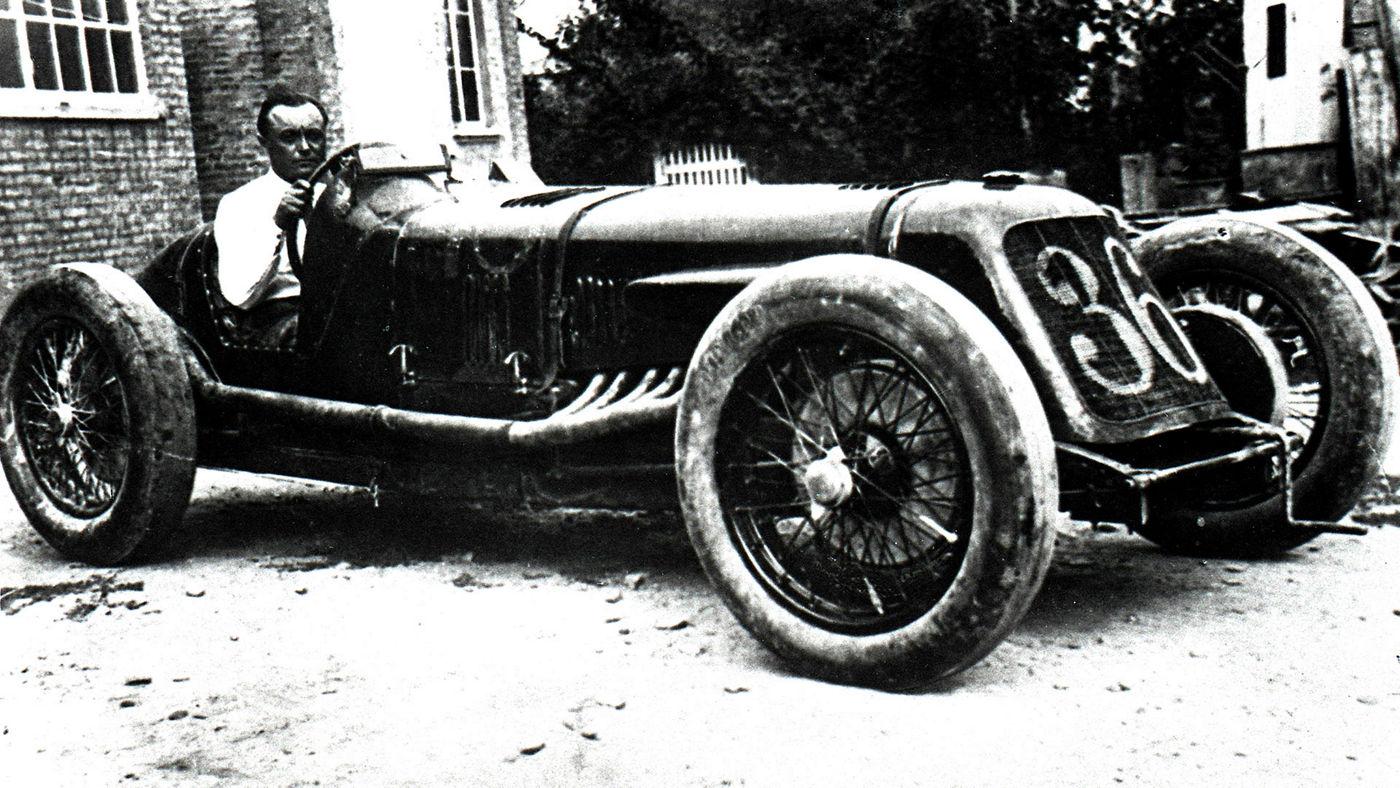 Maserati TIPO V4 in Cremona - Record by Borzacchini