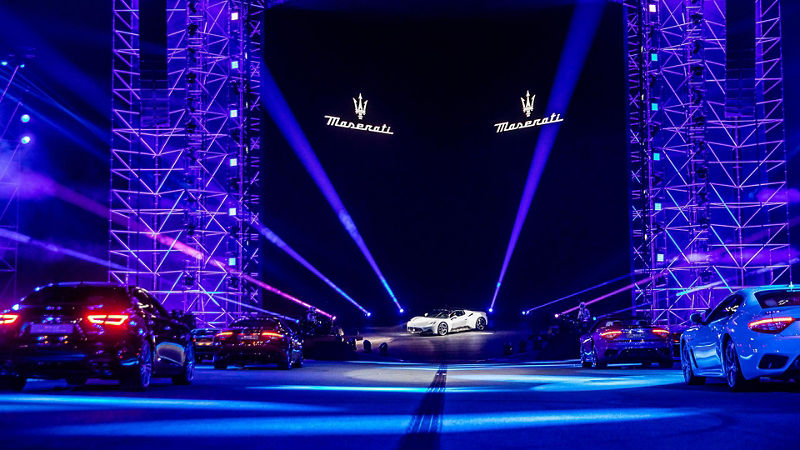 "Maserati Show ""MMXX: Time to be Audacious"":  Der neue Supersportwagen MC20"