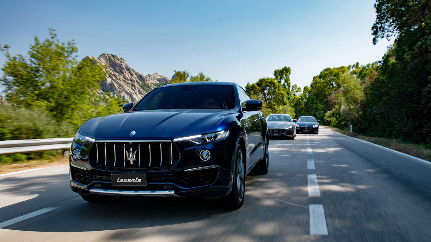 Maserati Levante MY19 e i modelli della gamma 2019 debuttano in Costa Smeralda