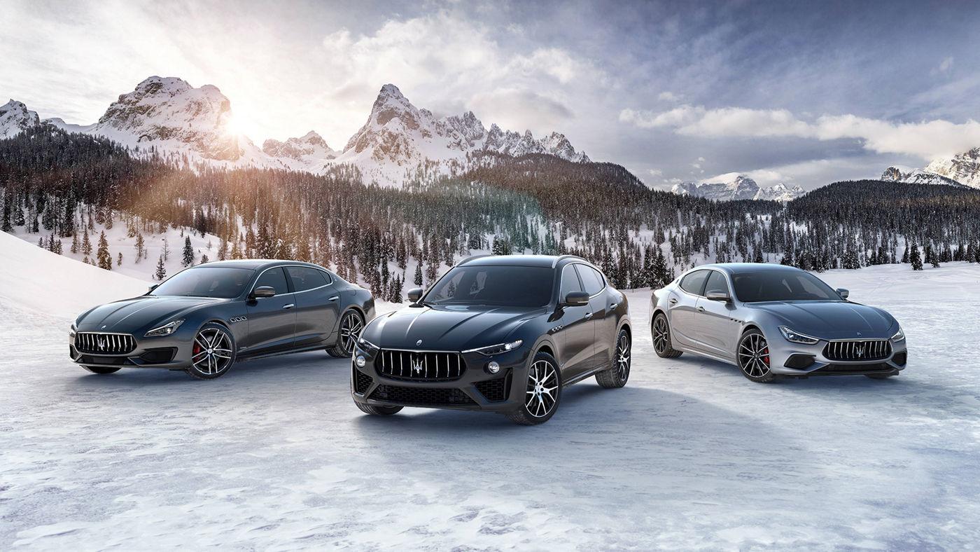 Modelli Maserati 2019: Ghibli, Quattroporte e Levante Vulcano - Maserati Winter Experience