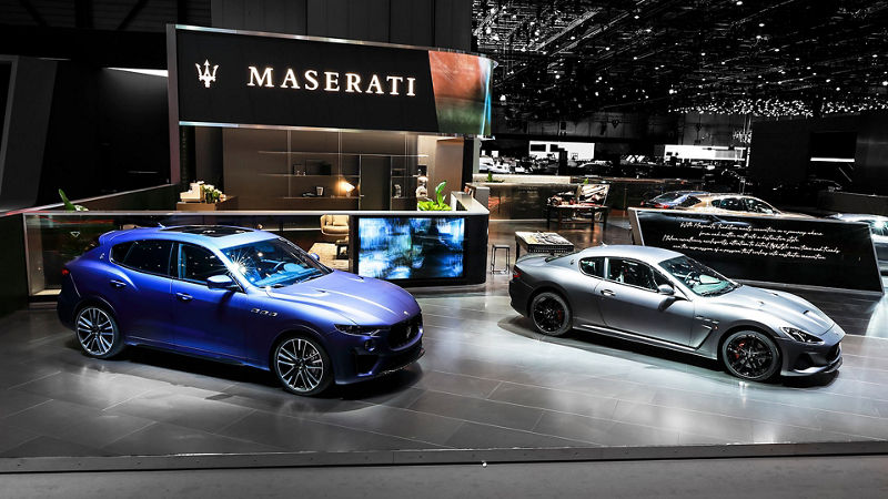 Salone di Ginevra 2019 - Maserati Levante Trofeo Launch Edition e Maserati GranTurismo MC