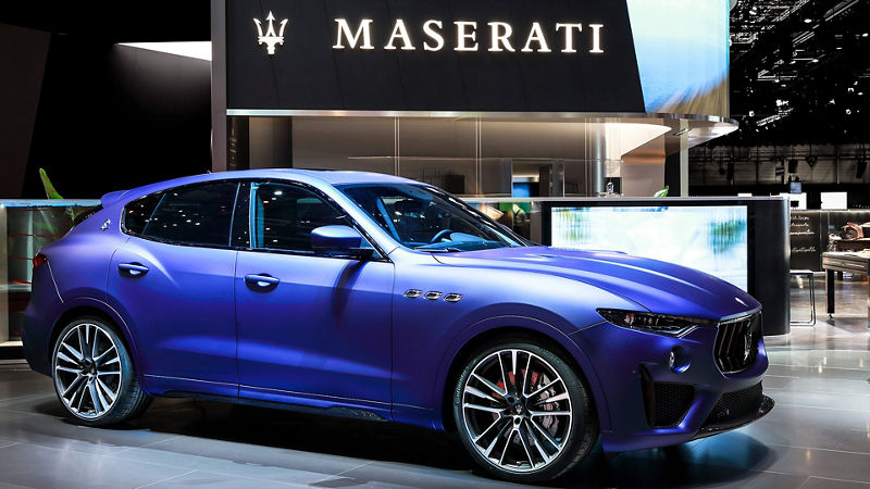 Maserati Levante Trofeo Launch Edition in Blu - Salone di Ginevra 2019