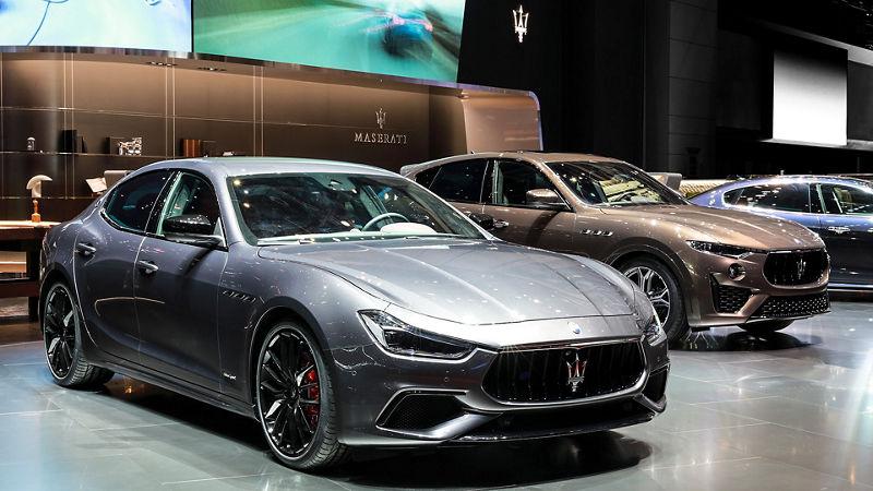 Maserati Ghibli SQ4 GranSport - Salone di Ginevra 2019