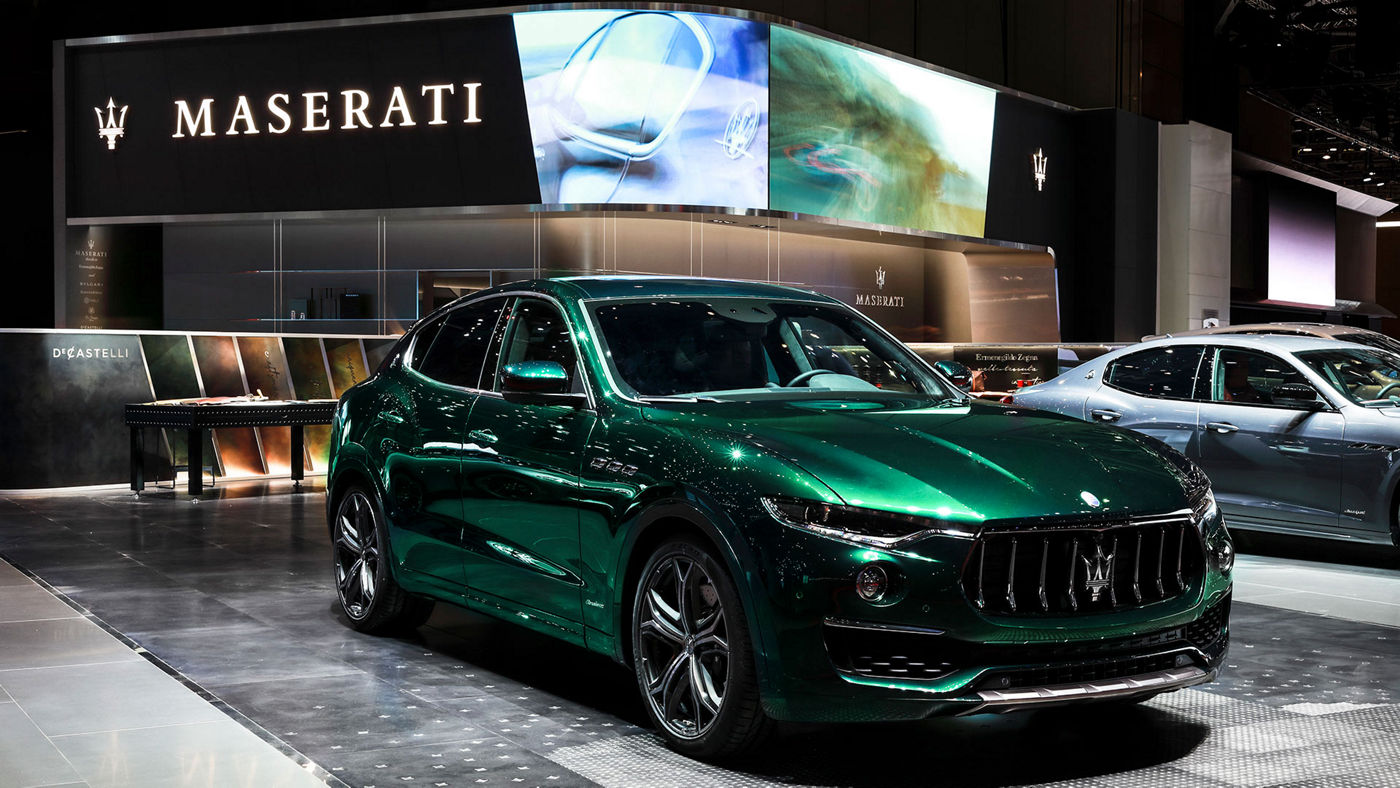 Maserati Levante ONE OF ONE Allegra Antinori - Salone di Ginevra 2019