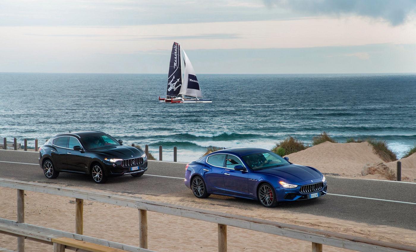 La berlina Ghibli, il SUV Levante e il Trimarano Maserati Multi70 a Porto Cervo per presentare la gamma MY19