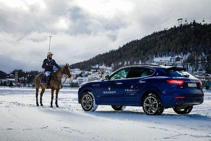 Maserati Levante al torneo di Polo a St. Moritz