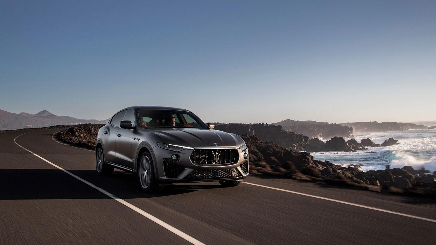 Maserati Levante Vulcano edizione limitata: vista esterna