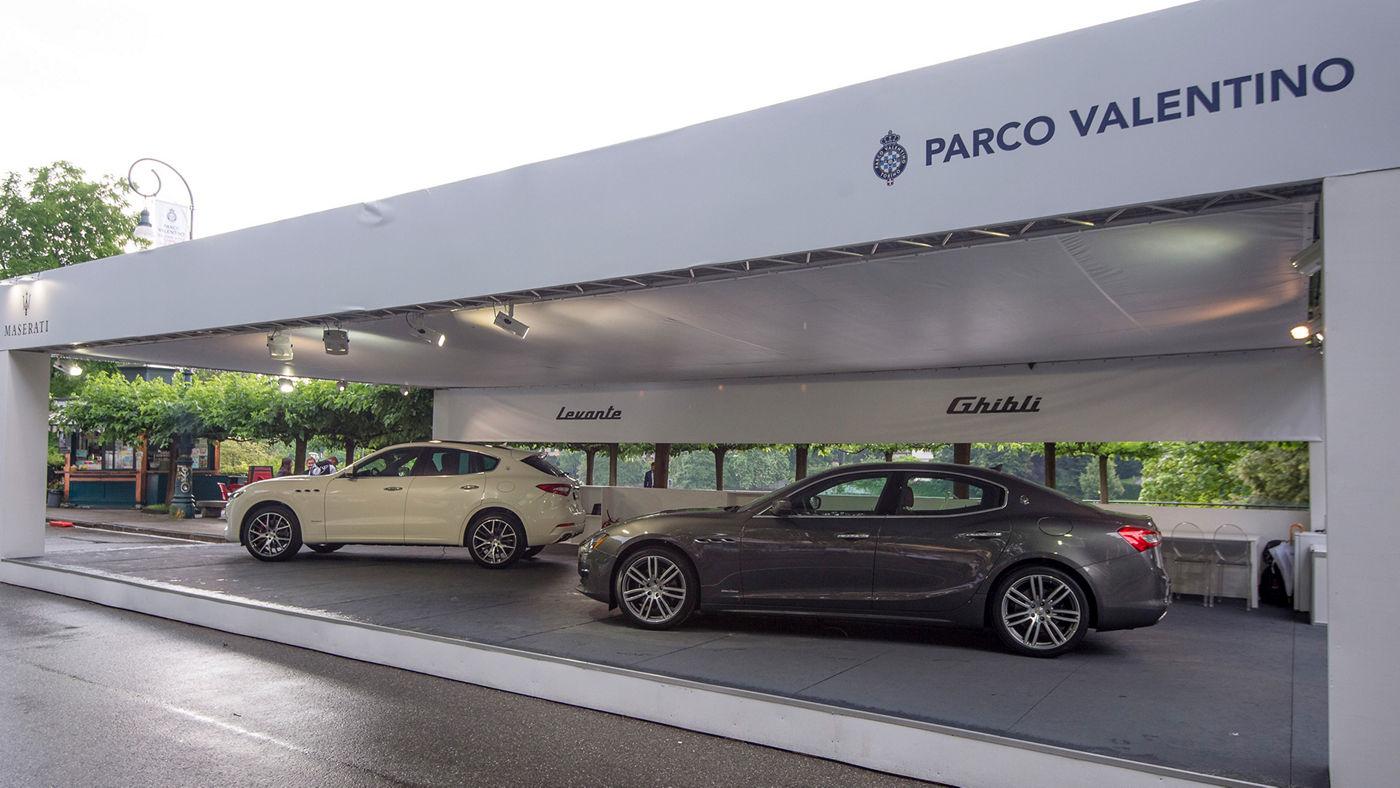 Lo stand Maserati al Salone dell'Automobile di Torino