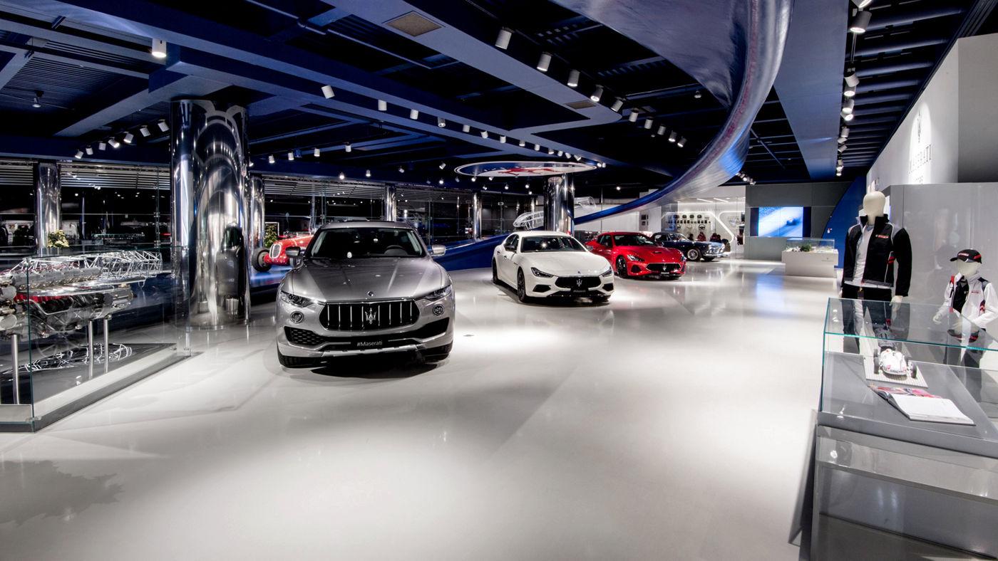 Showroom Maserati Modena