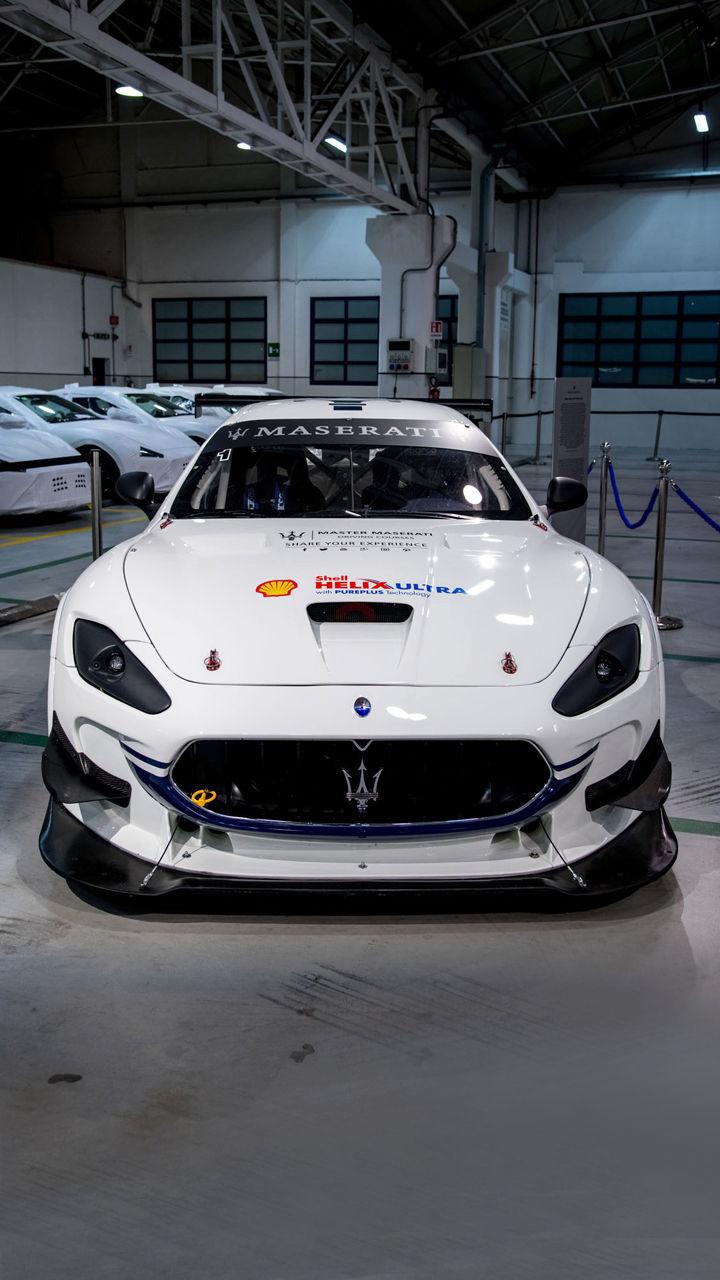 Maserati GranTurismo MC GT4 - Motor Valley Fest 2019