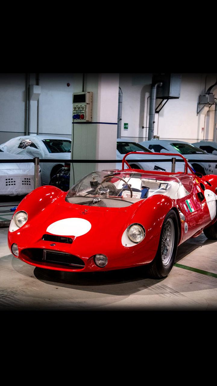 Maserati Tipo 63 Birdcage - Motor Valley Fest 2019