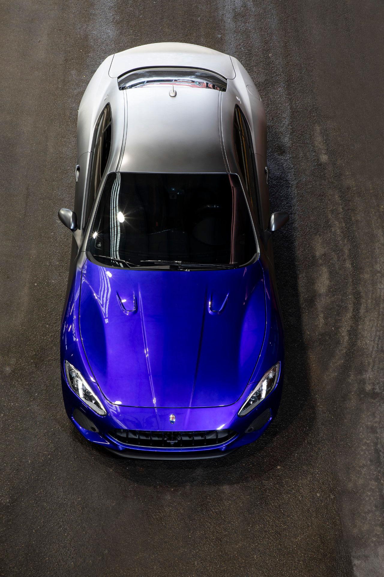 Maserati GranTurismo Zéda, vista dall'alto