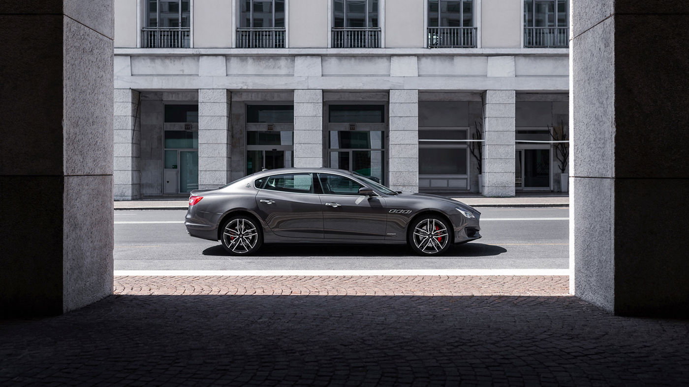 L'ammiraglia Quattroporte può essere tua con le soluzioni di finanziamento e leasing di Maserati e FCA