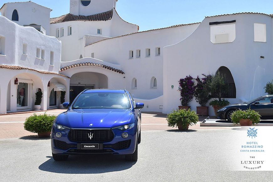 Marriott Hotels in Costa Smeralda, Sardegna, ospitano il Maserati Summer Tour
