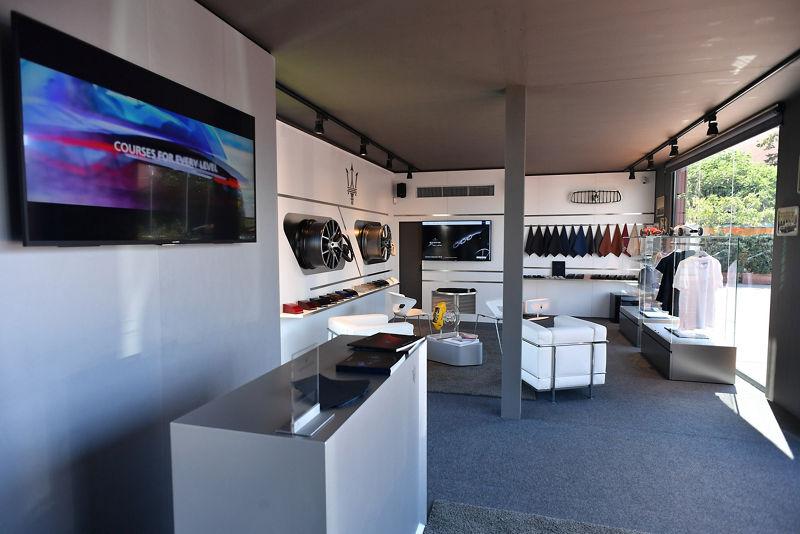 La Maserati Lounge a Waterfront, Porto Cervo