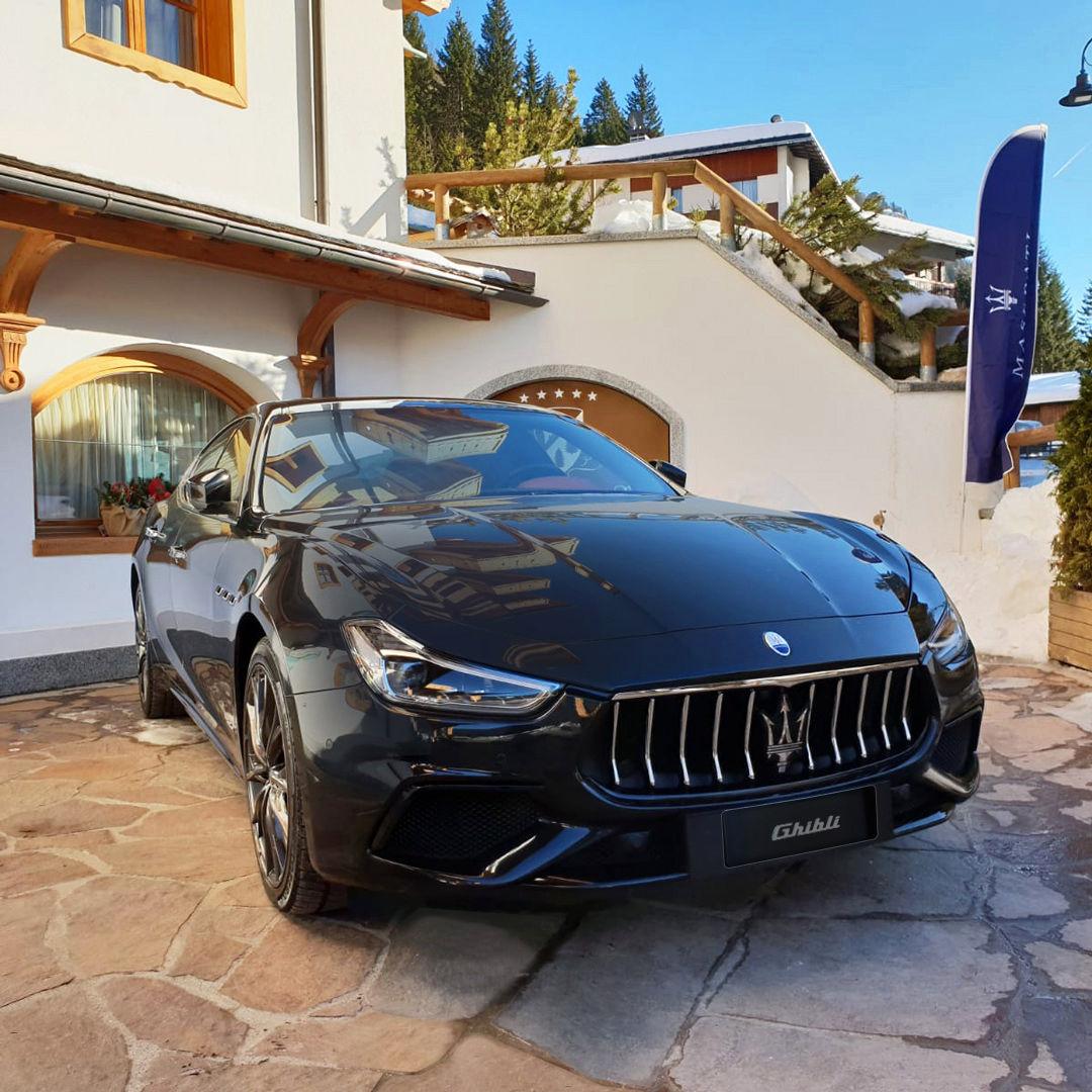 Maserati Ghibli MY19 - Maserati Winter Experience