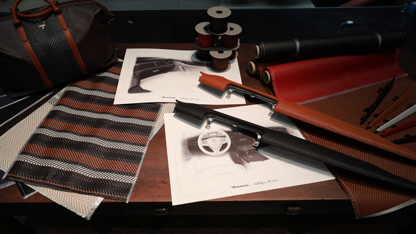 Maserati Zegna Pelletessuta interiors - Project and design