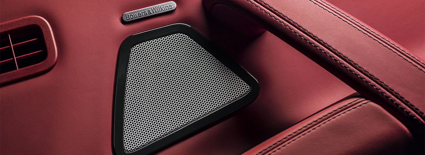 Maserati - Bowers and Wilkins audio speaker - A detail