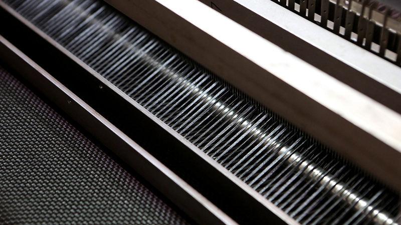 Maserati Zegna Pelletessuta interiors - Weaving loom