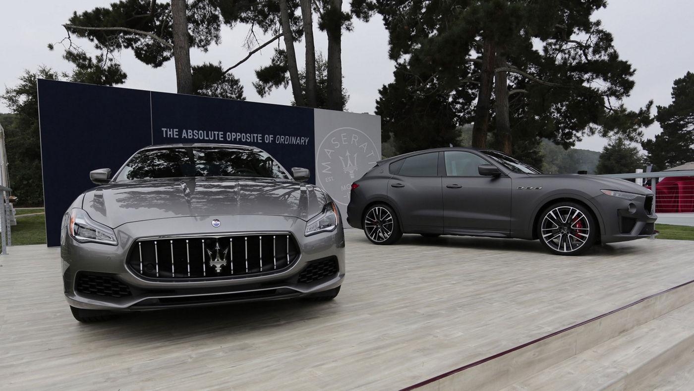 Maserati à la Semaine des Autos de Monterey