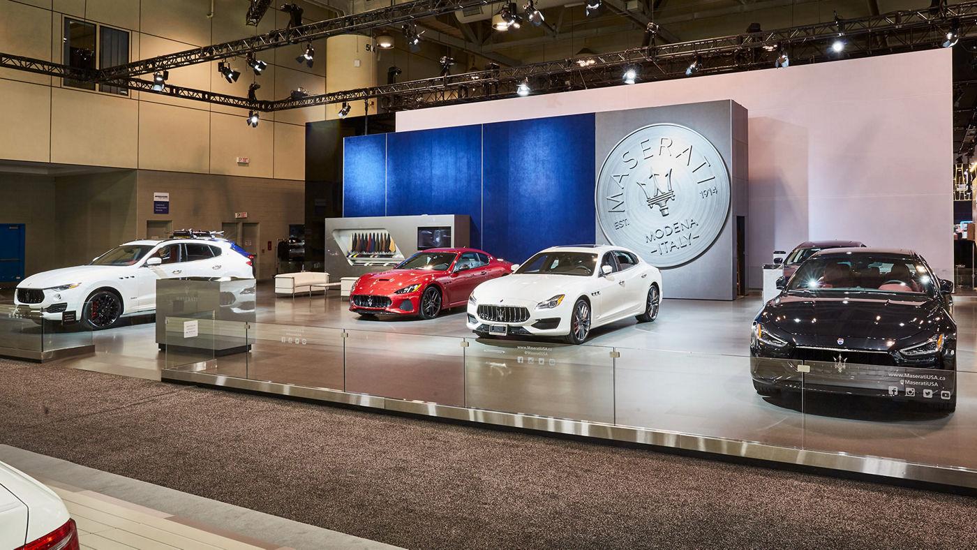 Maserati au salon de l'auto Toronto 2019
