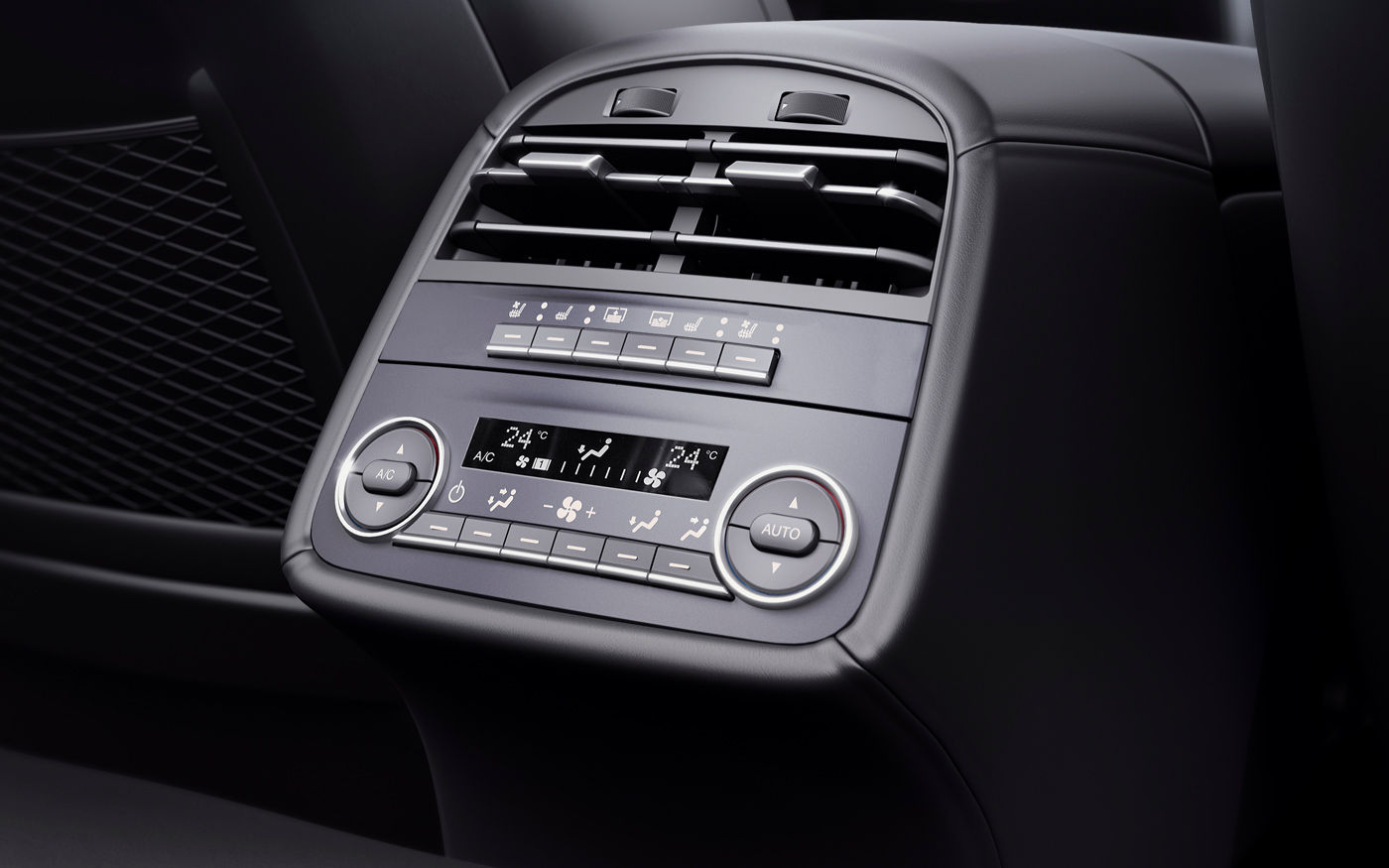 Maserati  Quattroporte - Détail ventilation
