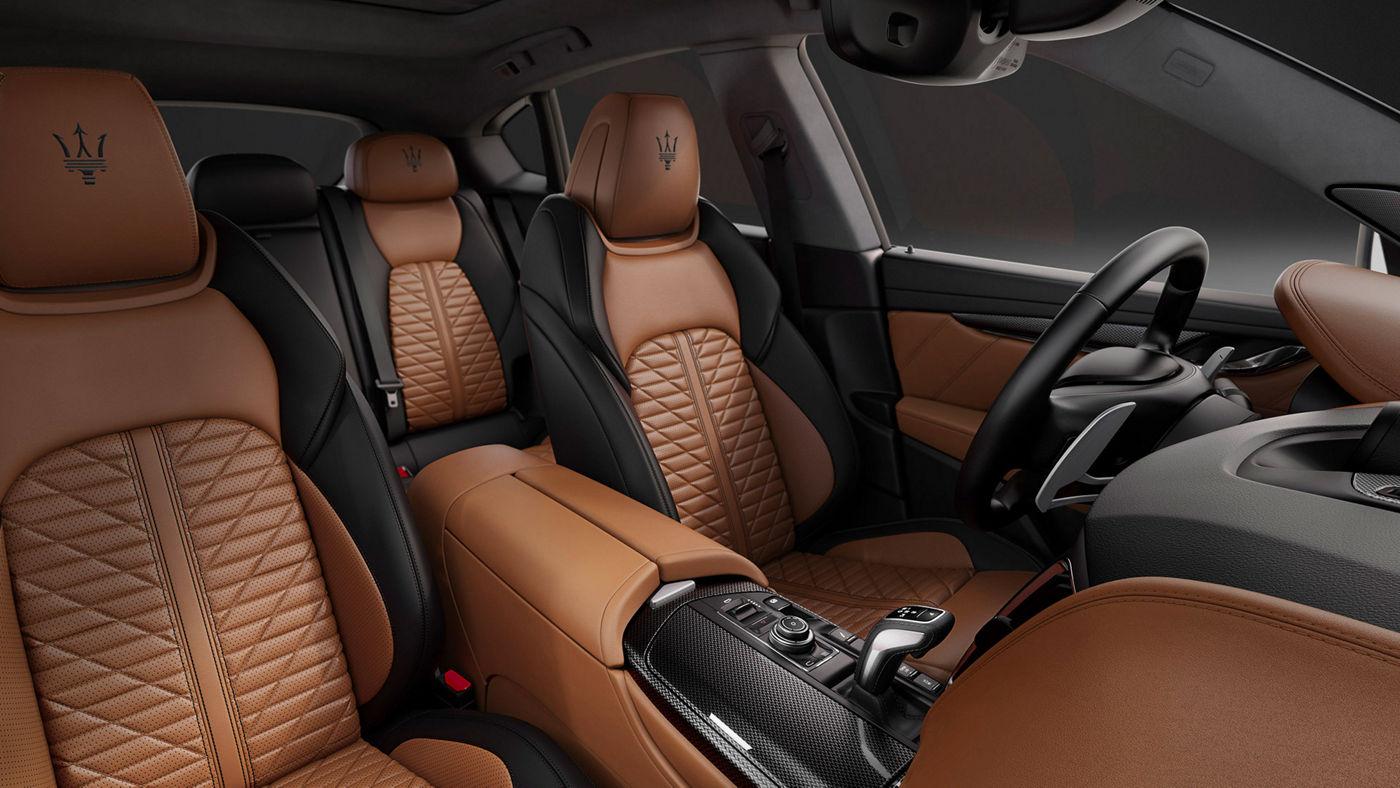 Maserati Levante Edizione Nobile leather interior