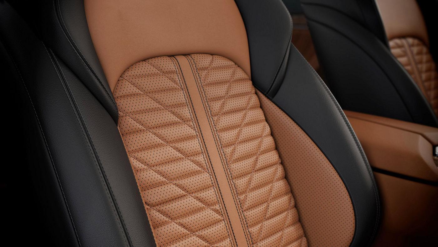 Maserati Quattroporte Edizione Nobile leather interior