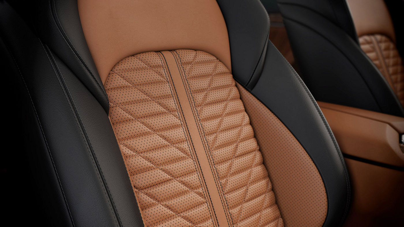 Sièges sportifs en cuir naturel Piano Fiore - Maserati Quattroporte Edizione Nobile intérieur