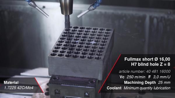 Fullmax – High-performance machine reamers, short