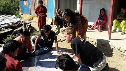 Volunteer surveyors help sustain land rights