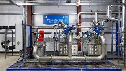 How waste water can be used to generate heat