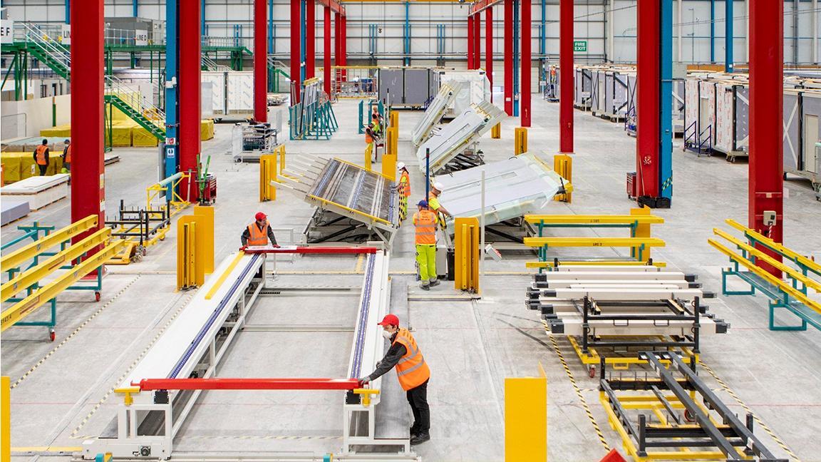 L&G's modular factory floor in action