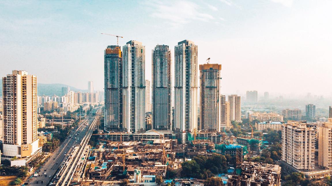 Construction in Mumbai