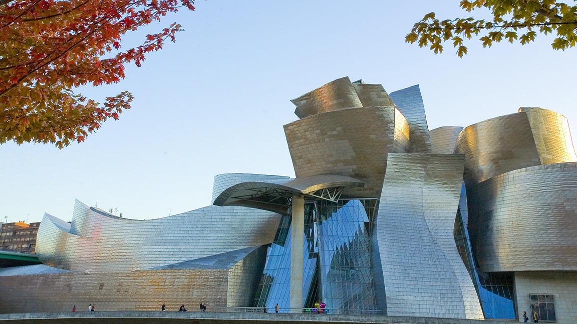 Photo of Guggenheim Bilbao during the day