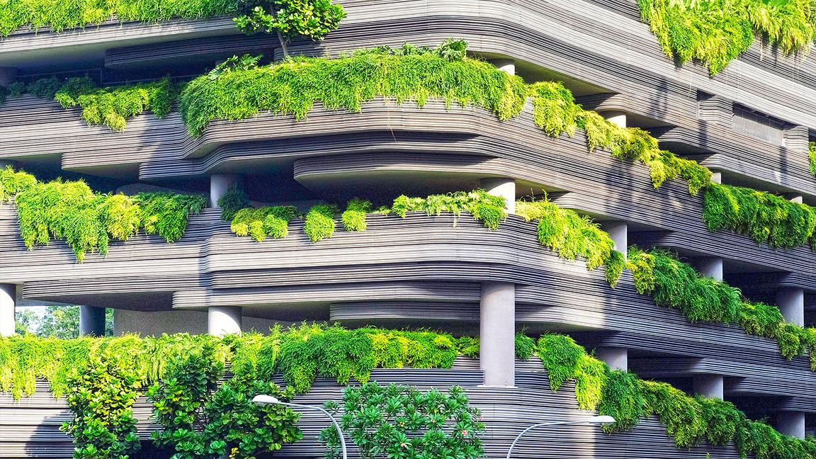 The ParkRoyal on Pickering hotel in Singapore