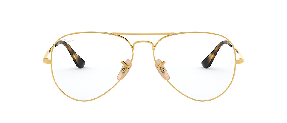 Occhiali da vista Ray Ban Aviator Optics RB6489 Oro