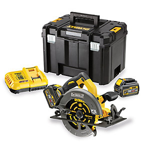 DEWALT DCS575T2 XR Flexvolt 54V Cordless Brushless 190mm Circular Saw with 2 x 6.0AH Batteries
